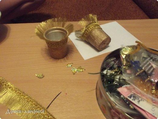Мастер-класс Новый год мк Как я делала новогодние колокольчики в школу Материал бросовый Стаканы фото 15