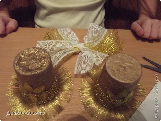 Мастер-класс Новый год мк Как я делала новогодние колокольчики в школу Материал бросовый Стаканы фото 25