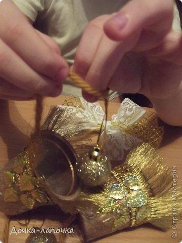 Мастер-класс Новый год мк Как я делала новогодние колокольчики в школу Материал бросовый Стаканы фото 31