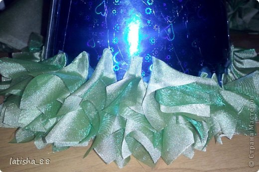Мастер-класс Поделка изделие Новый год Моделирование конструирование Елочка Бумага Картон Клей Ткань фото 6