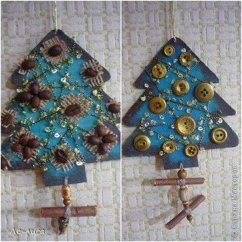 Сразу же хочу поблагодарить Евгению Лиси и её эко-ёлочки, которые вдохновили меня на создание моих ароматных подвесок. Так что этот МК, что называется, по мотивам... Вдохновлялась тут https://stranamasterov.ru/node/671670 фото 14