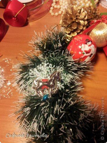 Мастер-класс Поделка изделие Новый год Новогодний венок за 30мин Бумага фото 10