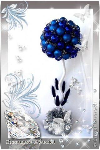Новогодний топиарий