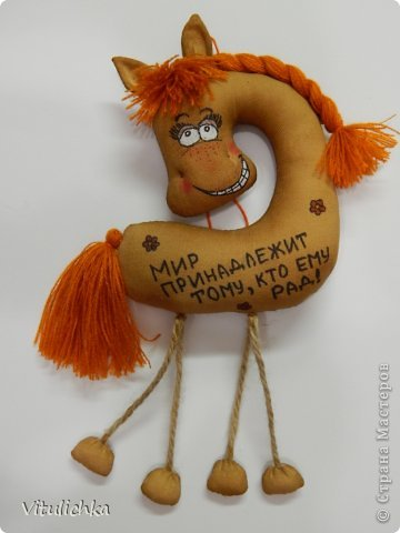 Спасибо Надежде https://stranamasterov.ru/user/101797 за чудесную идею! Долго я сопротивлялась, но не выдержала и сделала этих лошадок! Табунчик растет и сразу разбегается. Это первая партия Не все мордашки получились удачными, но что есть... фото 12