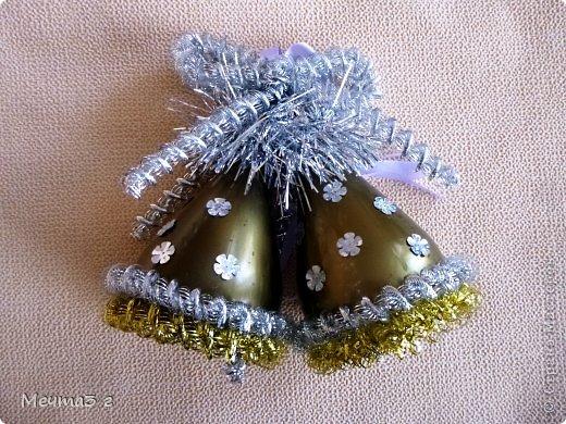 Как сделать новогоднее украшение из шаров своими