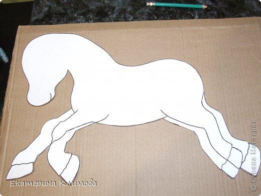 Мастер-класс Свит-дизайн Новый год Моделирование конструирование МК по созданию основы для свит-лошадки фото 2