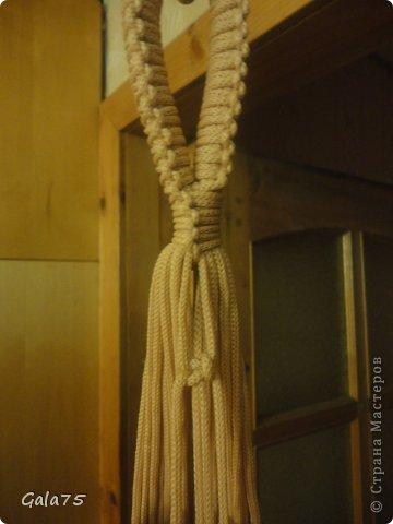 Мастер-класс Поделка изделие Макраме Кресло гамак Тесьма шнур фото 34
