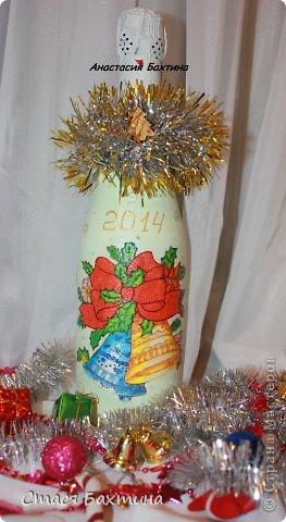 Ну вот  и Новый год уже совсем скоро!!!!!!А у нас с моей мамой работа кипит!!!!дарим людям радость и красоту сделанную своими руками =) вот что у нас получилось) фото 2