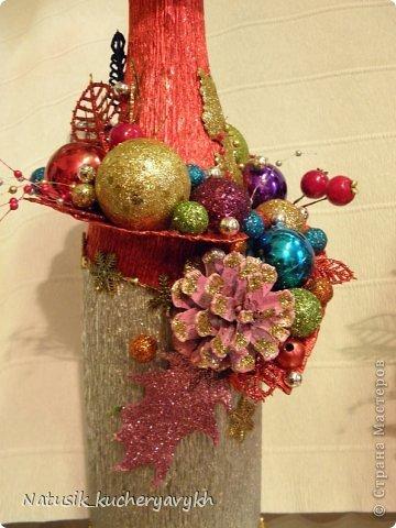 Декор предметов Мастер-класс Новый год Моделирование конструирование новогоднее дефиле + мк Бумага гофрированная фото 14