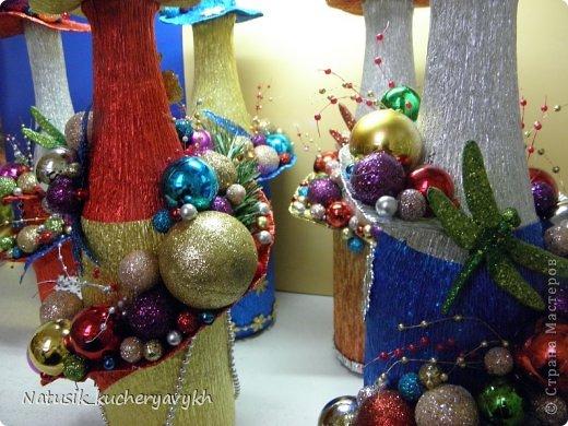 Декор предметов Мастер-класс Новый год Моделирование конструирование новогоднее дефиле + мк Бумага гофрированная фото 15