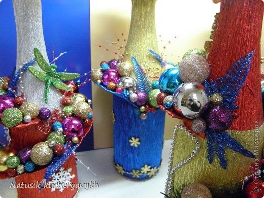Декор предметов Мастер-класс Новый год Моделирование конструирование новогоднее дефиле + мк Бумага гофрированная фото 17