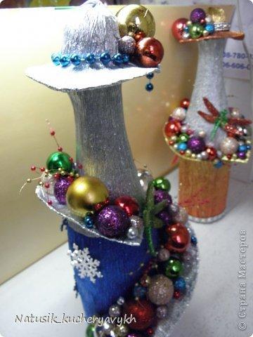 Декор предметов Мастер-класс Новый год Моделирование конструирование новогоднее дефиле + мк Бумага гофрированная фото 18