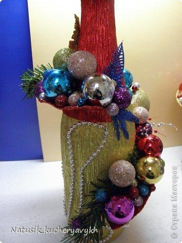 Декор предметов Мастер-класс Новый год Моделирование конструирование новогоднее дефиле + мк Бумага гофрированная фото 20