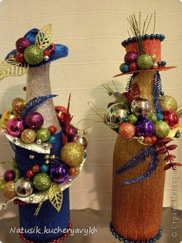 Декор предметов Мастер-класс Новый год Моделирование конструирование новогоднее дефиле + мк Бумага гофрированная фото 8