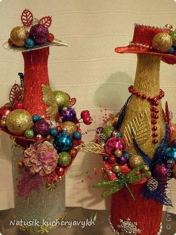 Декор предметов Мастер-класс Новый год Моделирование конструирование новогоднее дефиле + мк Бумага гофрированная фото 9