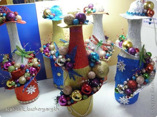 Декор предметов Мастер-класс Новый год Моделирование конструирование новогоднее дефиле + мк Бумага гофрированная фото 7