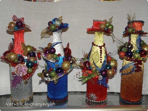 Декор предметов Мастер-класс Новый год Моделирование конструирование новогоднее дефиле + мк Бумага гофрированная фото 1