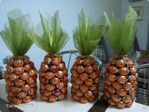 Свит-дизайн Новый год Ананасики и как я их делала  фото 1