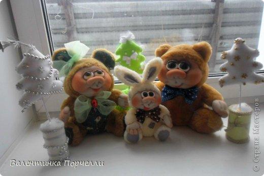Привет Страна!!!У меня тоже Новый год)))Наконец-то....Долго я смотрела на работы девочек-будильнички-облизывалась и вот решилась.Нашла очень понятный МК.Вот ссылка    http://www.liveinternet.ru/users/natali_tiraspolskaya/post300858378 фото 21