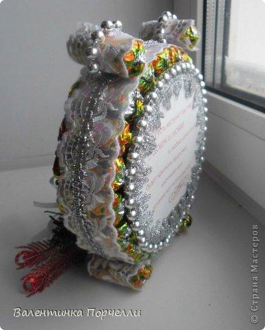 Привет Страна!!!У меня тоже Новый год)))Наконец-то....Долго я смотрела на работы девочек-будильнички-облизывалась и вот решилась.Нашла очень понятный МК.Вот ссылка    http://www.liveinternet.ru/users/natali_tiraspolskaya/post300858378 фото 7