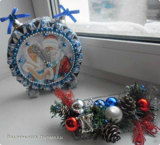 Привет Страна!!!У меня тоже Новый год)))Наконец-то....Долго я смотрела на работы девочек-будильнички-облизывалась и вот решилась.Нашла очень понятный МК.Вот ссылка    http://www.liveinternet.ru/users/natali_tiraspolskaya/post300858378 фото 10
