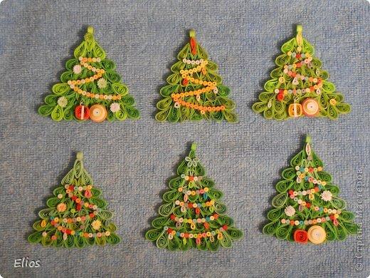 """В прошлом году я изобрела геометрию для моих ёлочек-подвесок, и они разошлись на """"ура"""" по всем друзьям-знакомым. В этом году у меня большой заказ (уже сделано больше 50-ти штук), здесь выложу лишь часть. фото 9"""