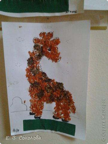 Лошадь из листьев поделка 54