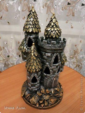 Поделка изделие Моделирование конструирование Замок и железное кружево Бумага фото 1