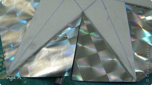 Мастер-класс Поделка изделие Новый год Моделирование конструирование Быстрое эффектное яркое украшение для Нового года Пенопласт фото 8