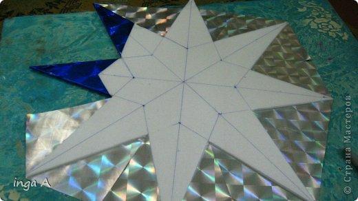 Мастер-класс Поделка изделие Новый год Моделирование конструирование Быстрое эффектное яркое украшение для Нового года Пенопласт фото 11