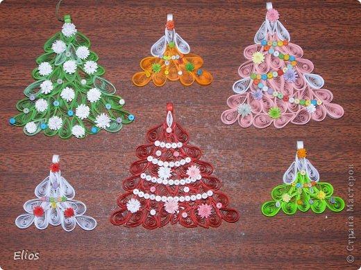 """В прошлом году я изобрела геометрию для моих ёлочек-подвесок, и они разошлись на """"ура"""" по всем друзьям-знакомым. В этом году у меня большой заказ (уже сделано больше 50-ти штук), здесь выложу лишь часть. фото 2"""