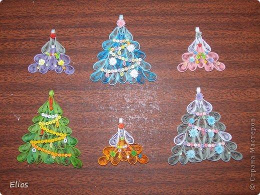 """В прошлом году я изобрела геометрию для моих ёлочек-подвесок, и они разошлись на """"ура"""" по всем друзьям-знакомым. В этом году у меня большой заказ (уже сделано больше 50-ти штук), здесь выложу лишь часть. фото 6"""