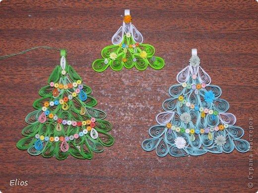 """В прошлом году я изобрела геометрию для моих ёлочек-подвесок, и они разошлись на """"ура"""" по всем друзьям-знакомым. В этом году у меня большой заказ (уже сделано больше 50-ти штук), здесь выложу лишь часть. фото 8"""