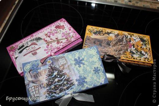 Мастер-класс Новый год Моделирование конструирование Шоколадницы разные +МК Бумага фото 1