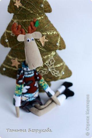 Текстильная игрушка  Лосяша  фото 5