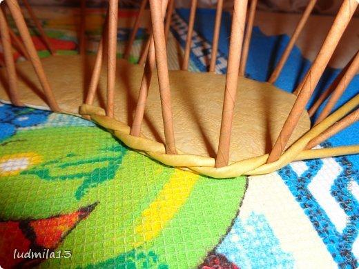 Мастер-класс Поделка изделие Плетение МК башмачок Бумага газетная Трубочки бумажные фото 9