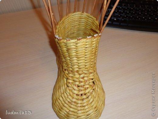 Мастер-класс Поделка изделие Плетение МК башмачок Бумага газетная Трубочки бумажные фото 21