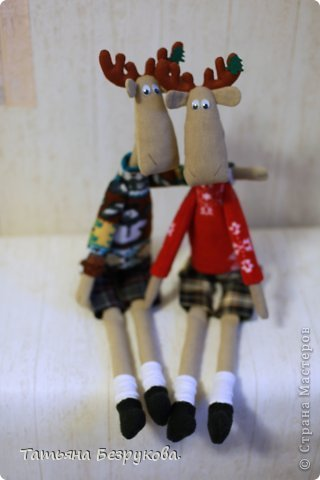 Текстильная игрушка  Лосяша  фото 3