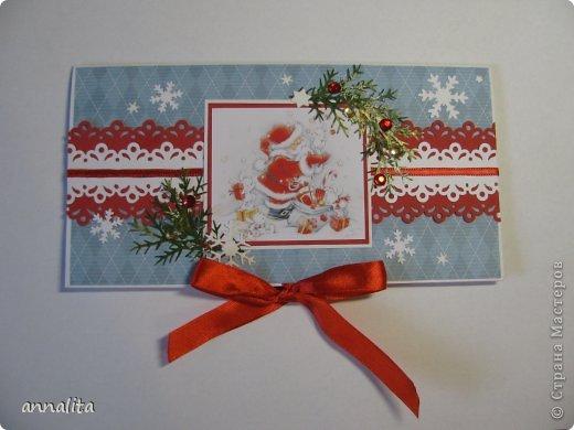 Конверт новогодний своими руками фото