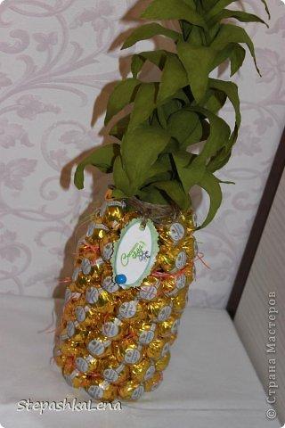 Как сделать лист ананаса 119