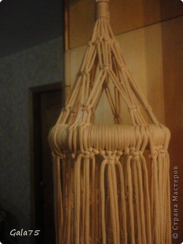 Мастер-класс Поделка изделие Макраме Кресло гамак Тесьма шнур фото 56