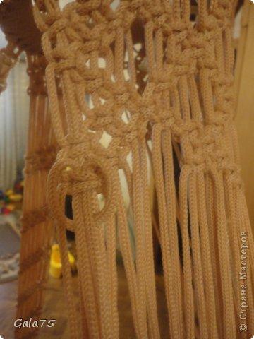 Мастер-класс Поделка изделие Макраме Кресло гамак Тесьма шнур фото 67