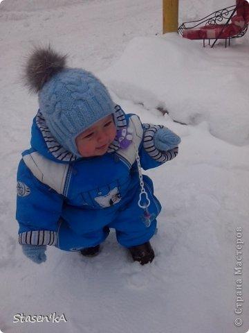 Вот такую шапочку связала для своего малыша ))