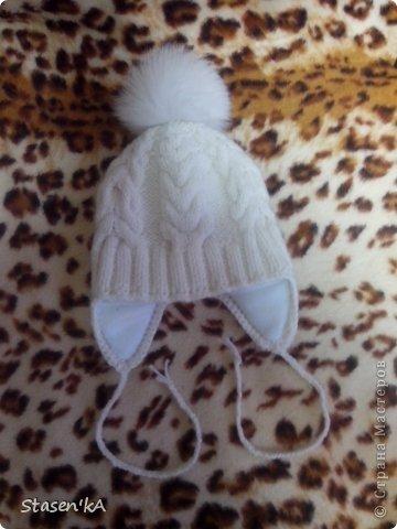 Вот такую шапочку связала для своего малыша )) фото 2
