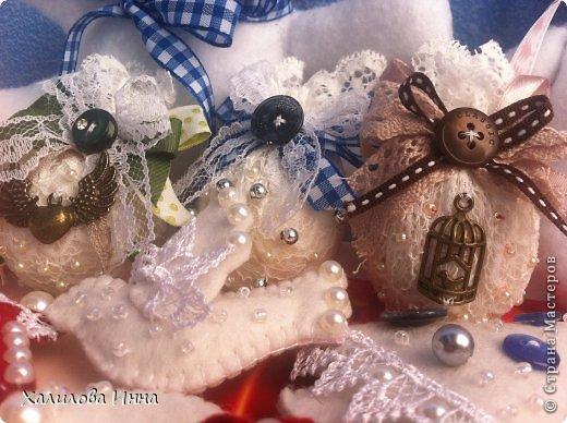Мастер-класс Новый год Шитьё Винтажный подарок близким за 15 минут Бумага газетная Бусинки Кружево фото 20