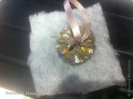 Мастер-класс Новый год Шитьё Винтажный подарок близким за 15 минут Бумага газетная Бусинки Кружево фото 4