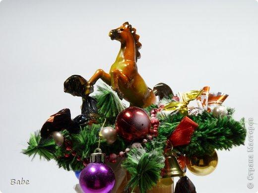 Здравствуй, Страна Мастеров! С Наступающим новым годом, дорогие Мастера и Мастрерицы! Всем неугасаемого вдохновения, творческих успехов и без здоровья не будет ни первого ни второго, поэтому крепкого здоровья!!! Вот что получилось из последнего. Коробочка чая + лошадка (магнитик) + немного конфет  фото 1