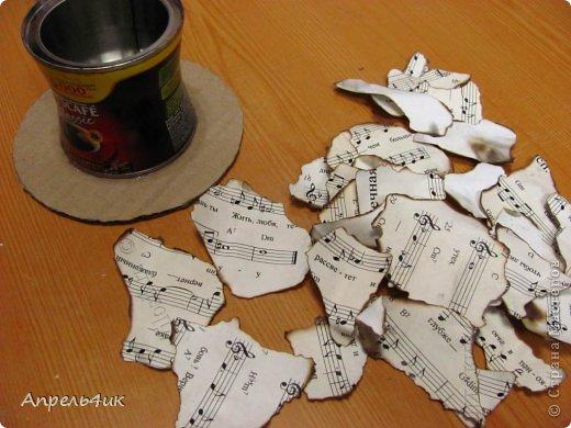 Мастер-класс Поделка изделие Новый год Моделирование конструирование Новогодние подсвечники-шляпки Гипс Гуашь Картон Клей фото 9