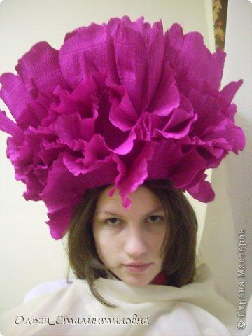 Шляпка на голову из бумаги