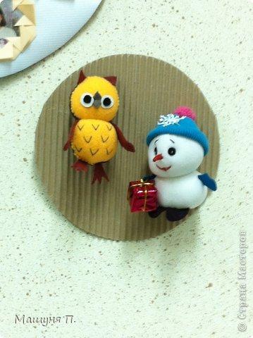 Совушка и Снеговик)